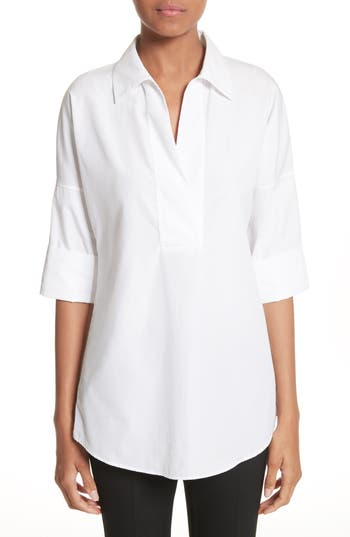 Akris punto Cotton Poplin Tunic
