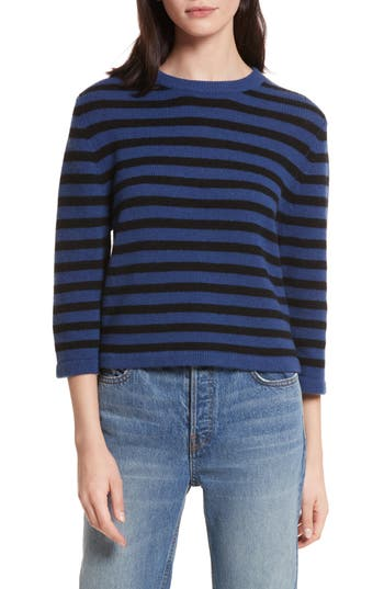 Allude Crop Cashmere Sweater