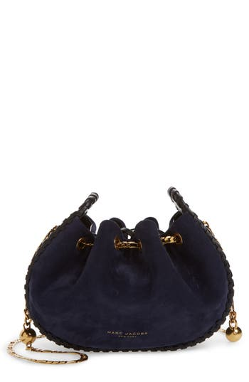 MARC JACOBS Sway Party Suede Crossbody Bag