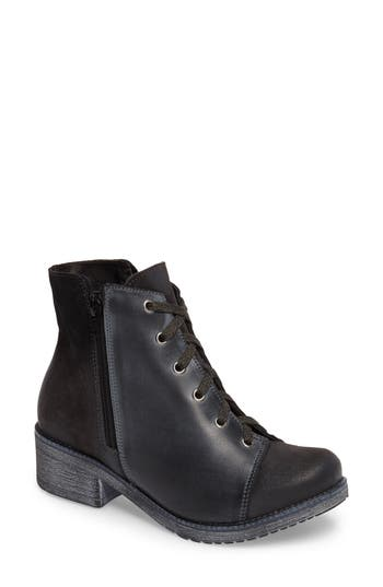 Naot Groovy Lace Up Bootie (Women)