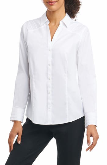 Foxcroft Rita in Solid Stretch..