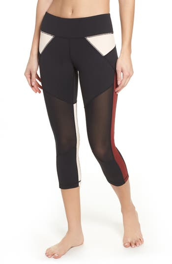 Win Win Crop Leggings by Zella