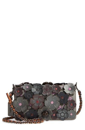 Coach 1941 Dinky Flower Appliqu 233 Leather Crossbody Bag