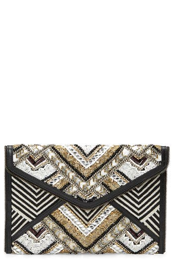 Leo Embellished Clutch by Rebecca Minkoff