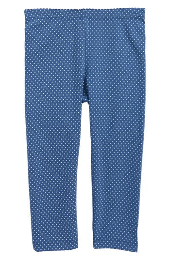 Pin Dot Capri Leggings