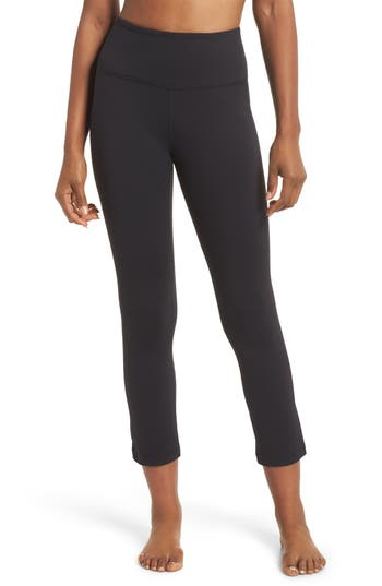 Plank High Waist Midi Leggings by Zella