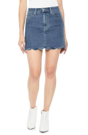 bella-wavy-hem-denim-skirt by joes
