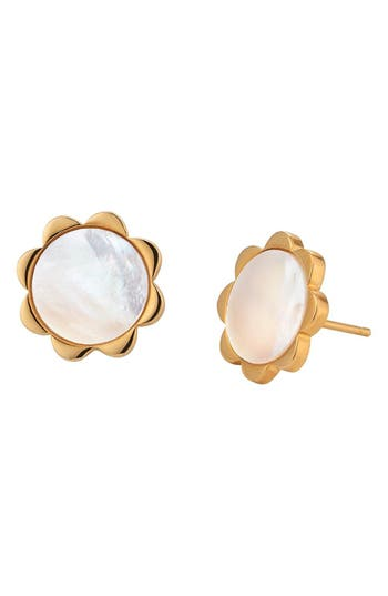 Petite Flower Stud Earrings by Asha