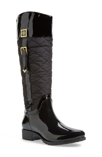 D 228 V Coventry Quilted Tall Waterproof Rain Boot Women