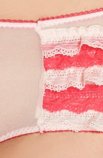 Alternate Image 5  - Honeydew Intimates Mesh & Lace Ruffle Briefs