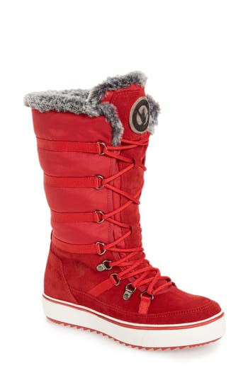 Santana Canada 'Mackenzie' Faux Fur Waterproof Boot (Women)