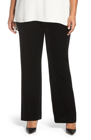 Lyssé Velvet Pants (Plus Size)