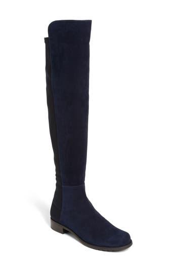 Stuart Weitzman 5050 Over the Knee Leather Boot (Women)