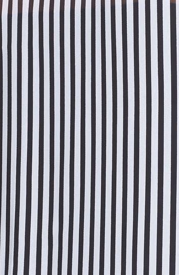 Alternate Image 3  - Evans Mono Stripe Sleeveless Blouse (Plus Size)