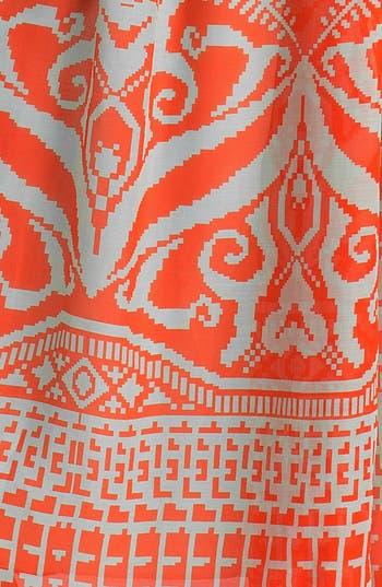Alternate Image 3  - Milly 'Gustavia' Cotton & Silk Halter Dress