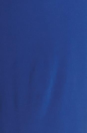 Alternate Image 3  - Alex Evenings Beaded Waist Jersey Blouson Dress (Plus Size)