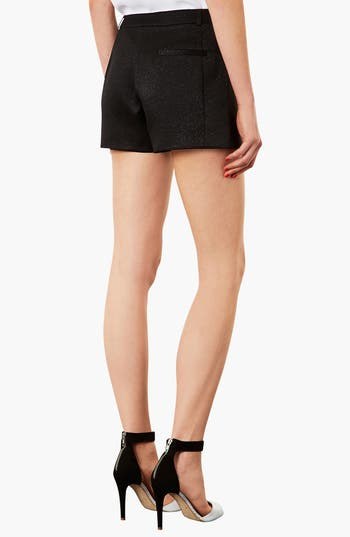 Alternate Image 2  - Topshop Scalloped Shimmer Shorts