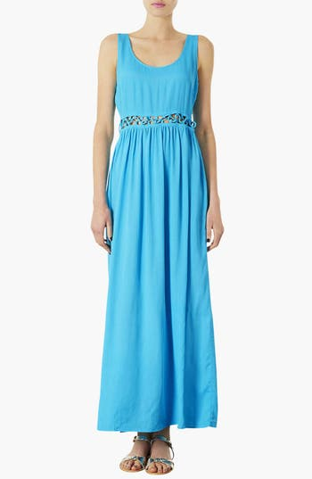 Alternate Image 1 Selected - Topshop Knotted Waist Maxi Dress