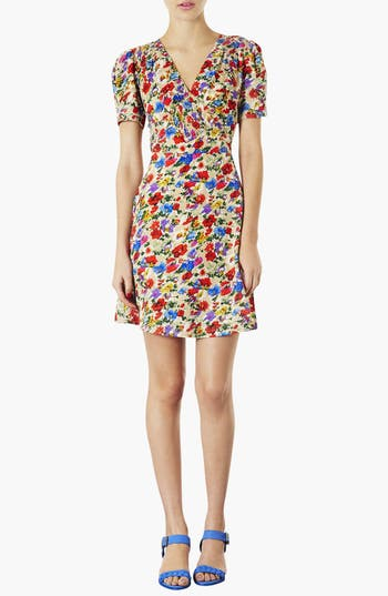 Alternate Image 1 Selected - Topshop Poppy Print Day Dress