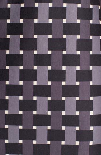Alternate Image 3  - Eliza J Elbow Sleeve Geo Print Ponte Shift Dress