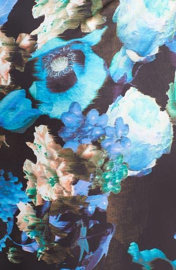 Alternate Image 3  - Ivy & Blu Print Ruched Sheath Dress
