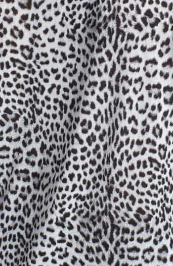 Alternate Image 3  - MICHAEL Michael Kors Leopard Print Drape Neck Top (Plus Size)