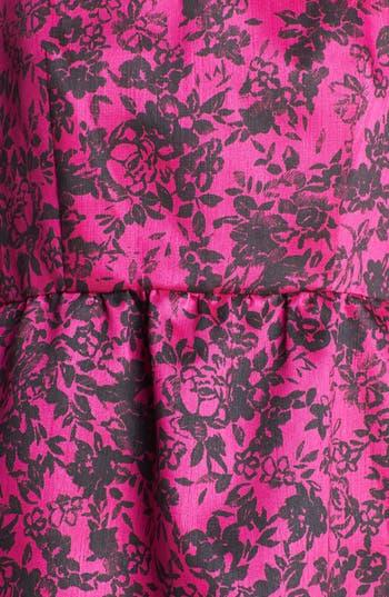 Alternate Image 3  - Taylor Dresses Print Fit & Flare Dress