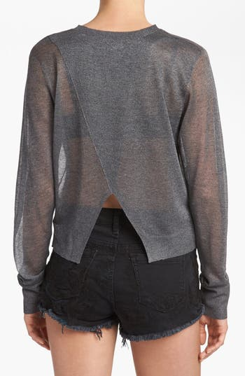 Alternate Image 2  - Leith Split Back Crop Sweater