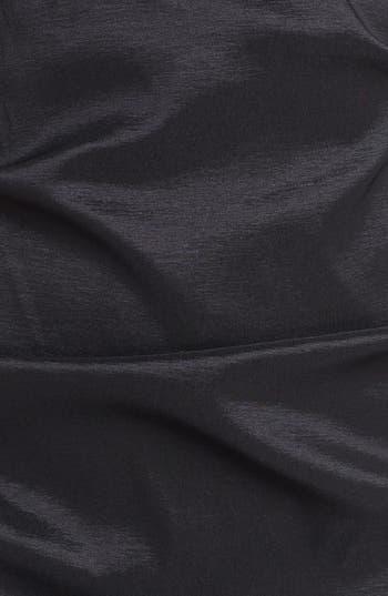 Alternate Image 3  - Xscape Lace Yoke Ruched Taffeta Sheath Dress