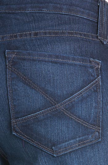 Alternate Image 2  - NYDJ 'Hayden' Stretch Straight Leg Jeans (Burbank) (Short)