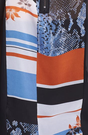 Alternate Image 3  - Kenneth Cole New York 'Feodora' Mixed Print Chiffon Top (Regular & Petite)