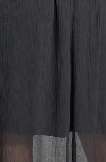 Alternate Image 3  - Frenchi® Lace Hem Maxi Skirt (Juniors)