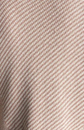 Alternate Image 3  - BP. Fringe Trim Stripe Open Front Cardigan (Juniors)