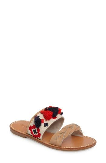 Soludus Embroidered Slide Sandal (Women)