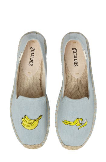 Soludos Embroidered Espadrille Slip-On (Women)
