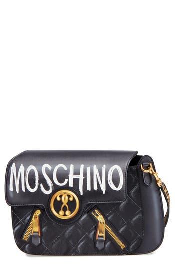 Moschino 2-D Graffiti Logo..