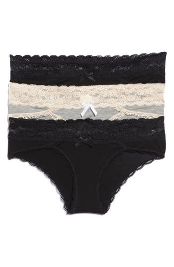 Honeydew Intimates 3-Pack Hipster Panties