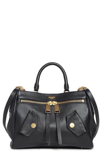 Moschino Grainy B Leather ..