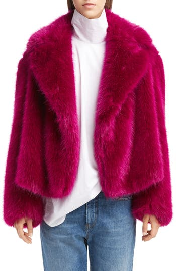 Dries Van Noten Faux Fur T..