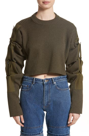 Y/PROJECT Tab Sleeve Sweater