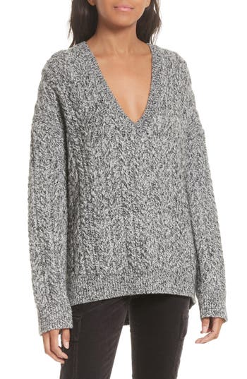 Vince Cable Knit V-Neck Sw..