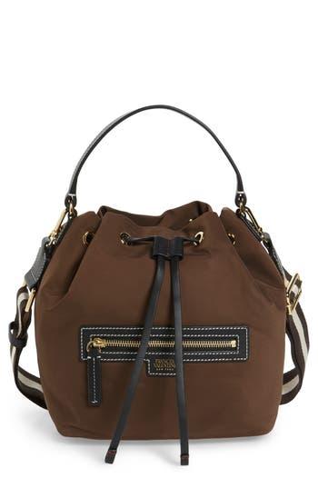 Frances Valentine Medium Ann Nylon Bucket Bag