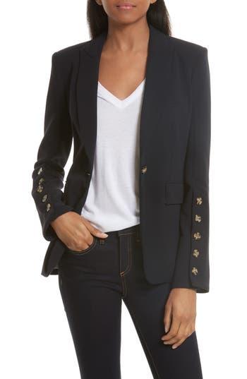 Veronica Beard Steele Cutaway Jacket