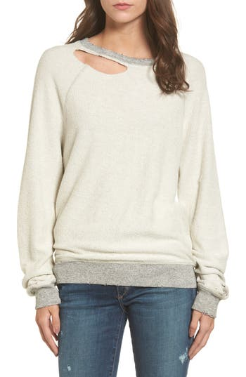 n:PHILANTHROPY Holden Reverse Distressed Sweatshirt
