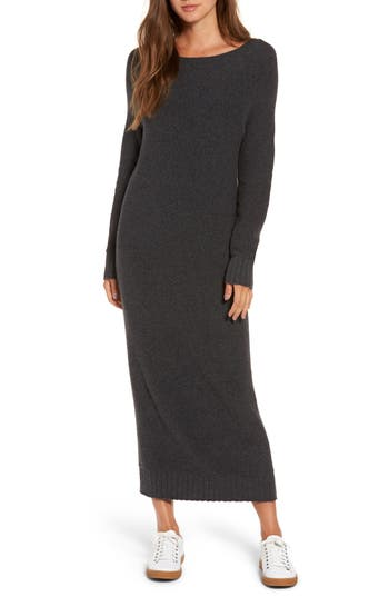 Hinge V-Back Sweater Dress
