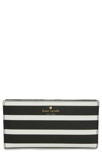 kate spade new york hyde lane - stacy stripe wallet