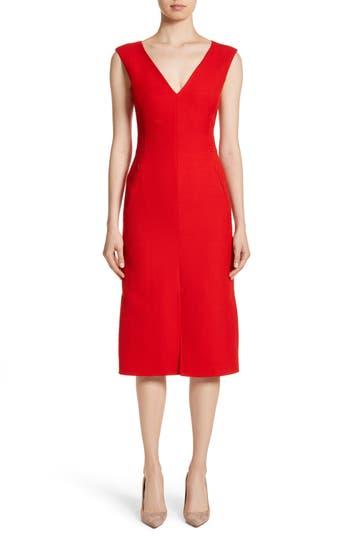 Akris Double Face Wool & Silk Dress