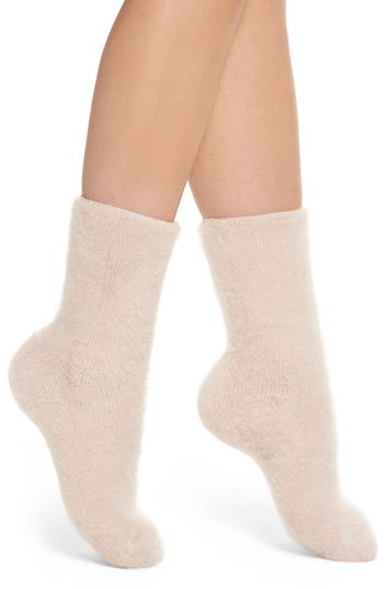 Lemon Winter Fog Socks