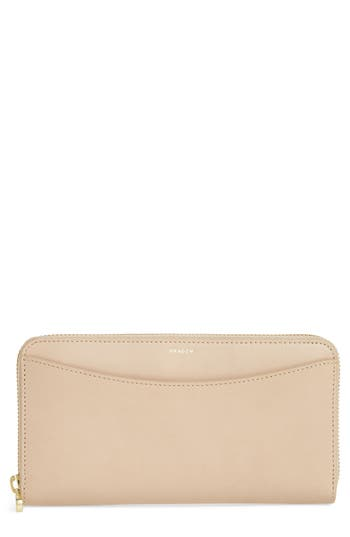 Skagen Leather Continental Wallet