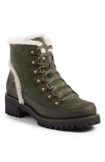 Tory Burch Cooper Genuine Shearling Boot (Women)